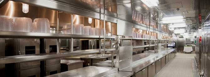 One of our specialties - commercial kitchens