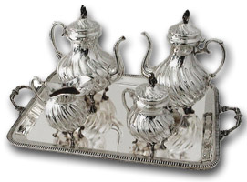 Silver-teaset-and-tray